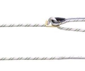 Adjustable Work Positioning Kernmantle Rope Lanyard 2.0 mtr