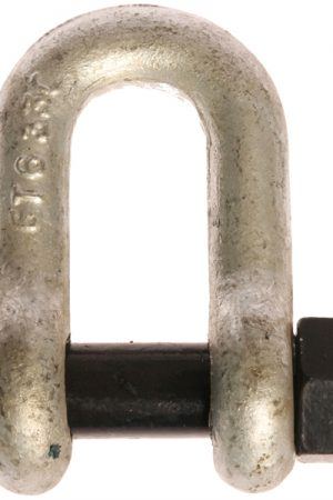 Blue Pin Standard Dee Shackles With Safety Nut And Bolt Pin